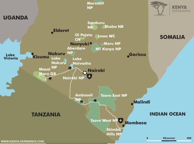 Kenya - Savannah and Sea